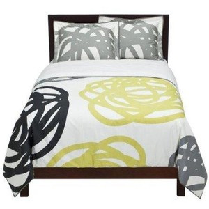Target orbits duvet cover and shams