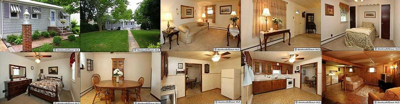 Real estate listing photos of our new house