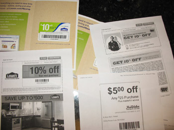 House and home extreme couponing