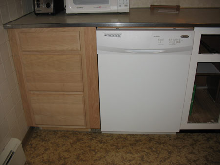 new dishwasher drawer