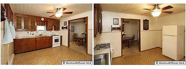 kitchen before listing photo