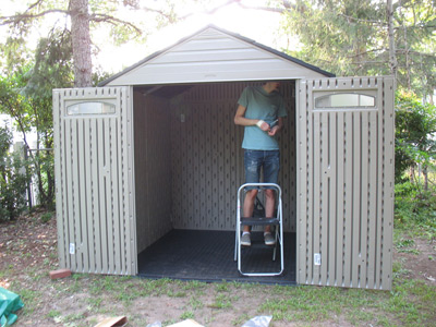 shed finishing