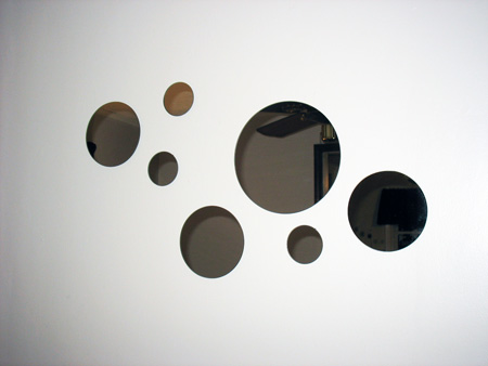 Circle mirrors from Target