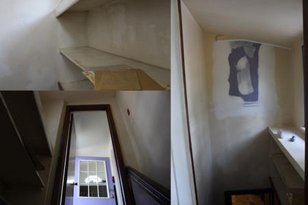 Stairway storage remodel