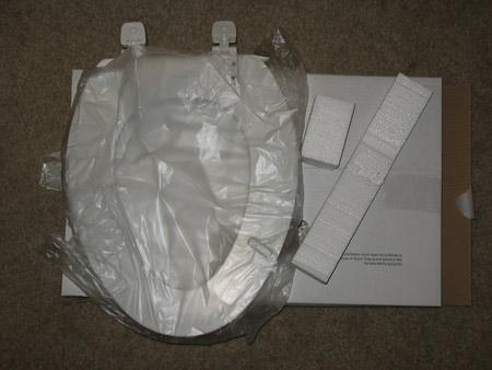 New Kohler toiler seat