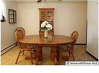 Dining room listing photo