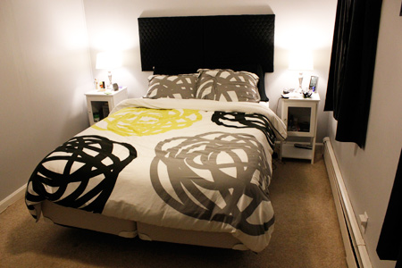 Our remodeled bedroom