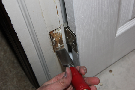 Chisel Door Frame