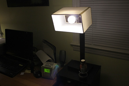 Unique desk lamp