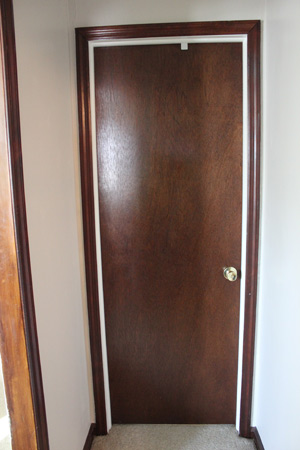 Luan door & Bathroom Door | DIY and Home Improvement Blog | Fresh Nest Blog