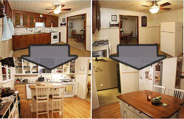 Do It Yourself Galley Kitchen Remodel