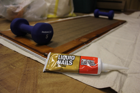 Liquid Nails for Cabinets