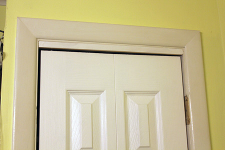 Bi-fold Door Shim & Luan Doors | DIY and Home Improvement Blog | Fresh Nest Blog