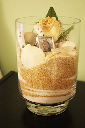 Wedding DIY sand ceremony