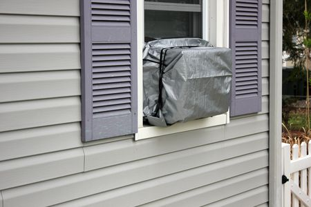 Polyethylene Window Air Conditioning Cover