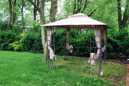 Backyard Canopy Open