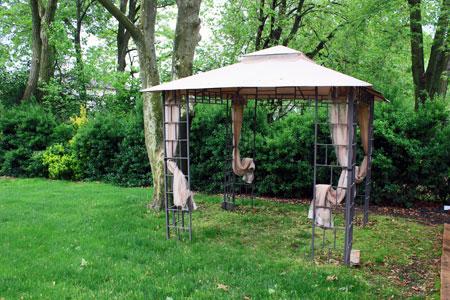 Backyard Canopy Open