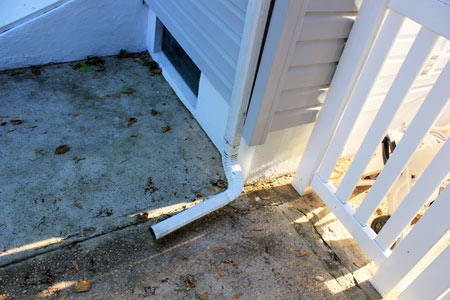Downspout Bottom