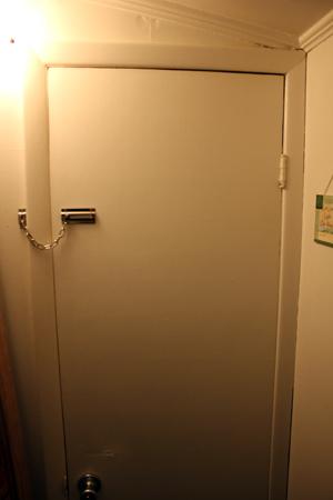 Old Basement Lauan Door